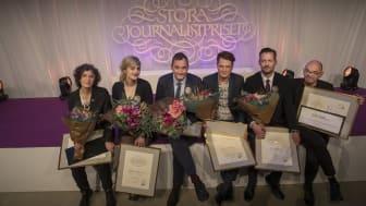 Jenny Svenberg Bunnel, Matilda Gustavsson, Robert Barkman, Daniel Velasco, David Baas och Mats Nileskär