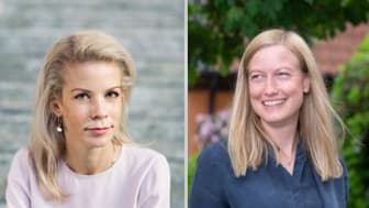 Anna König Jerlmyr (M) och Katarina Luhr (MP)