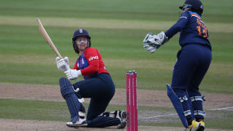 Tammy Beaumont made 59 in a losing cause. Photo: Getty Images