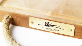 Skärbräda designad av Stefano Catenacci i samarbete med Stiftelsen Livslust