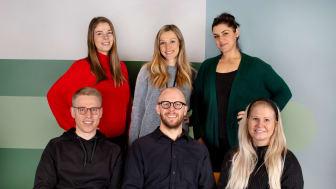 Hela Bodystore-teamet, med Rickard Åstrand på nedre raden, i mitten.