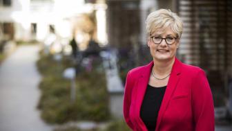 Marie Linder, förbundsordförande för Hyresgästföreningen