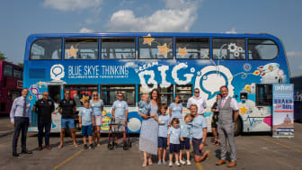 Blue Skye Thinking branded charity launched by Oxford Bus Company