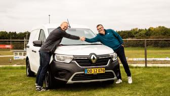 Renault Kangoo vinder Årets Varebil 2022