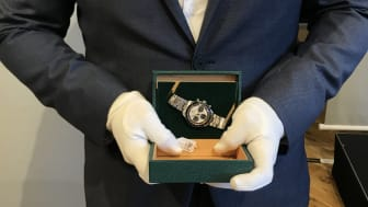 "Rolex Daytona Cosmograph ""Paul Newman"" sold for DKK 1.7 million (€297,000 including buyer's premium)."