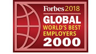 KONE är en av världens bästa arbetsgivare enligt Forbes