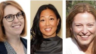 Evelina Thiger, Carolina Lundberg och Amanda Norre är nya i Team Thorengruppens styrelse.