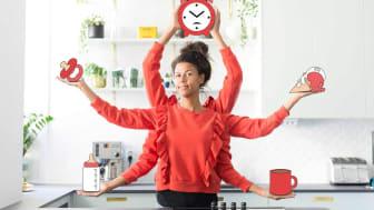 Vivi Wallin från Mammasanningar och Fixa Själv AB spar tid med Crock-Pot Time Select.