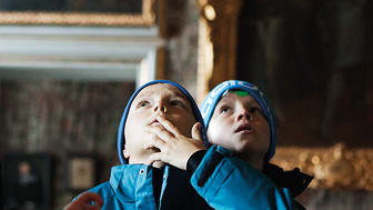 Familjevisning på Skoklosters slott