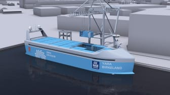 Autonomous and 100% electric, 'YARA Birkeland' will be the world's most advanced container feeder ship