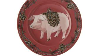 Rosenthal - Year of the Pig zodiac plate / design: iSHONi