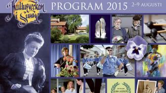 Kulturveckan i Sunne 2015