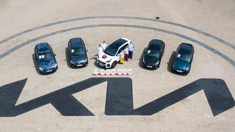Kia har byggt 4 miljoner bilar i Europa