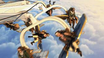 Sommarens nya höjdare på Liseberg: AeroSpin