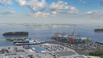 Sweden: Port of Gothenburg expands