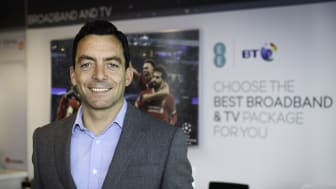 Marc Allera, CEO of BT's Consumer business