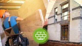 Auch 2020 konnte sich das Mauerwerk als beliebteste Bauweise durchsetzen.