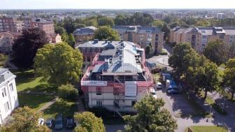 36 takkupor kräver traditionell hantverksskicklighet