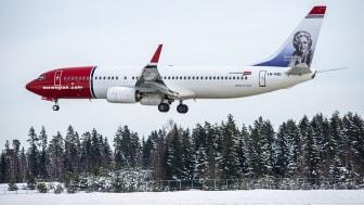 Norwegian's Boeing 737-800.