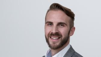 Den 1 april tillträdde Eivind Vogel-Rödin rollen som verksamhetschef för Innovatum Startup. Foto: Peter Berg