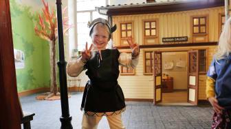 Lördagen den 25 september invigs Bokäventyret i Gamla biblioteket. En efterlängtad öppning för både stora och små.