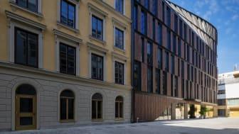 Astoriahuset och Nybrogatan 17