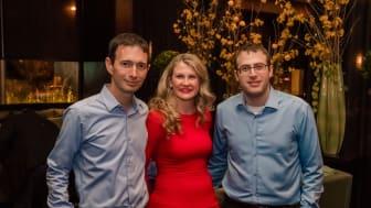 Claroty Co-founders Amir Zilberstein, Galina Antova and Benny Porat