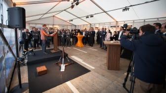 Großes Interesse am neuen Produktionsstandort_Sprecher Christian Jebsen_CEO Kebony