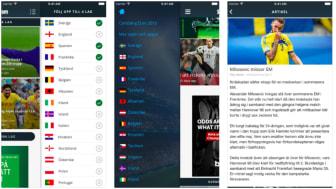 SvenskaFans lanserar EM-app