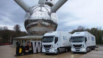 Iveco deltar i världens första test av truck platooning