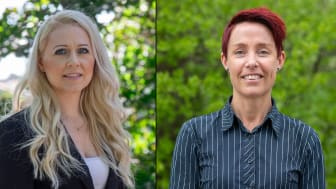 Diana Tilevik och Anna-Karin Pernestig har tillsammans med andra europiska forskare tagit fram ett helt nytt instrument som kan diagnostisera sepsis på bara några timmar. Foto: Högskolan i Skövde. Bilden är ett montage.