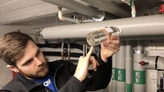 Besiktning av system och systemvätska är första steget i QTF-metoden