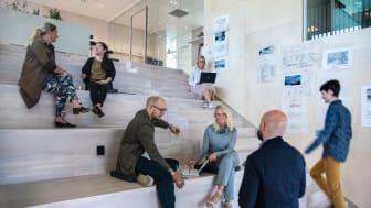 Strategisk Arkitekturs nya kontor på Drottninggatan i Stockholm