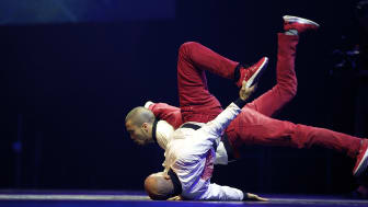 Stark hiphop duo till Freedom of Dance
