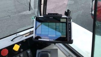 Bättre logistik på lastgårdar med datorplattan ALGIZ 10X