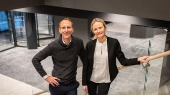 Jørgen Christoffer Flaa og Cecilie Landgraff Bruusgaard