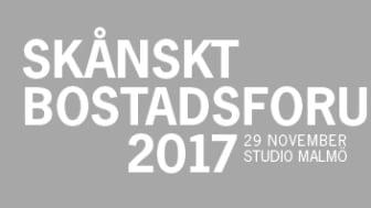 Riksbyggen deltar i Skånskt Bostadsforum