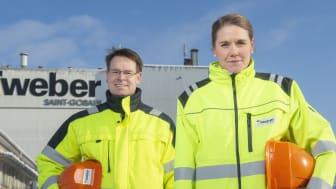 Emma Bernsten är ny Försäljnings- och Kundavdelningsdirektör på Weber, Saint-Gobain Sweden AB sen 1 februari.