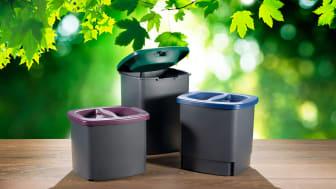 Innovativa sophinken Frank trycker ihop dina sopor och ger dig mer plats i påsen.