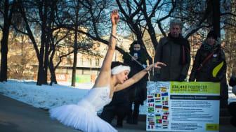 Ryssland: Amnestyprotest i Moskva