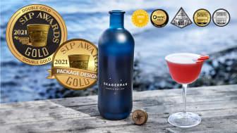 Helt färska dubbla guldmedaljer till Skagerrak Nordic Dry Gin