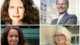 Jessica Stark, Göran Grell, Elaine Eksvärd och Brit Stakston är nominerade till Årets Affärsnätverkare 2016
