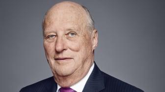 Hans Majestet Kong Harald vil delta på markeringen av Lions Clubs International sitt 100-årsjubileum i Oslo 3 juni. Foto: Jørgen Gomnæs / Det kongelige hoff.