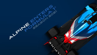 Alpine F1® Team går in i Formel 1