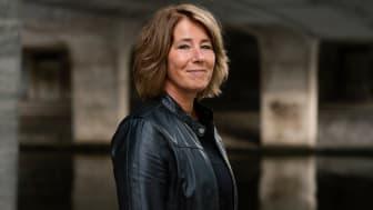Johanna Frelin, vd på Riksbyggen.