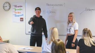 På fredag får Karlshamn Fria Läroverks elever besök av företagare från Karlshamns kommun, HelpToYou och Nordlo