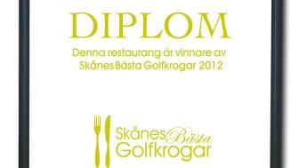 Final i tävlingen Skånes Bästa Golfkrog