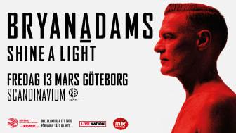 Bryan Adams åter till Scandinavium i vår