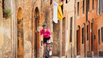 Snabba cykelkläder för tjejer som satsar