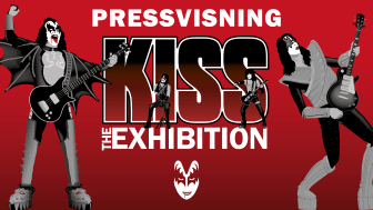 Pressvisning av Kiss - The Exhibition
